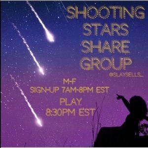 ✨#15 SHOOTING STARS SHARE GROUP ✨